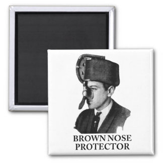 Brown Nose Protector Magnet