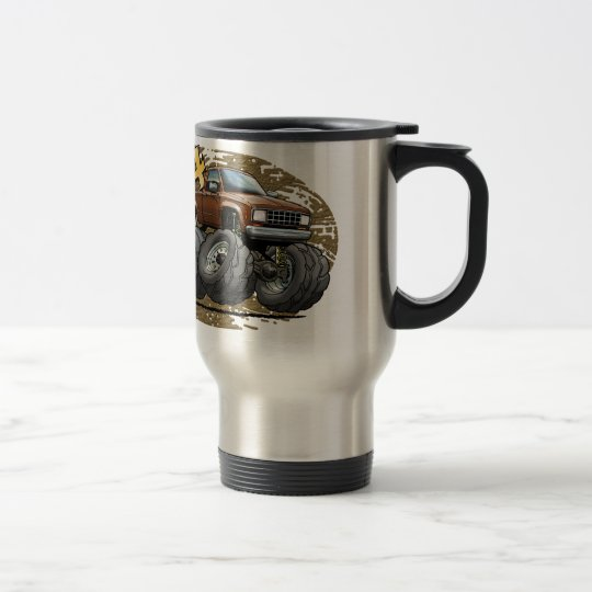 Brown Old Ranger Travel Mug