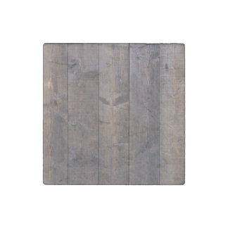 Brown old wood wall texture stone magnet