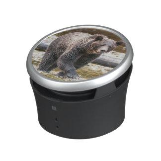 Brown Or Grizzly Bear (Ursus Arctos) Fishing Bluetooth Speaker