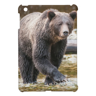 Brown Or Grizzly Bear (Ursus Arctos) Fishing iPad Mini Cases