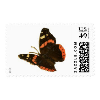 Brown-Orange Butterfly Stamps