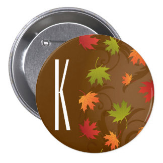 Brown, Orange, Red, & Green Autumn, Fall Leaves Pins