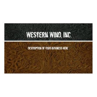 Brown oscuro, ennegrece la tarjeta de visita de cu