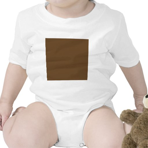 Brown oscuro trajes de bebé
