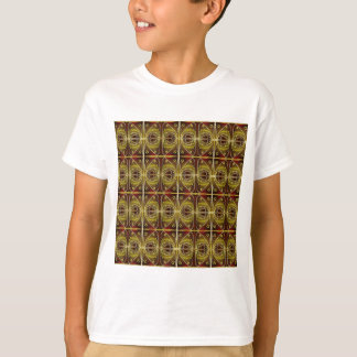 brown, oval pattern T-Shirt