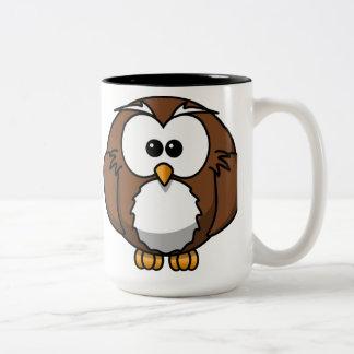 Brown Owl Two-Tone Coffee Mug