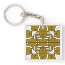 Brown Owls Key Chain