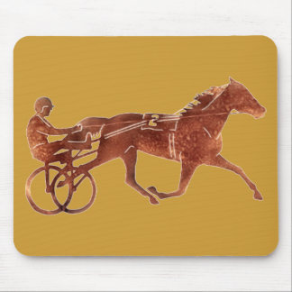 Brown Pacer Silhouette Mousepads
