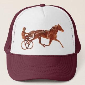 Brown Pacer Silhouette Trucker Hat