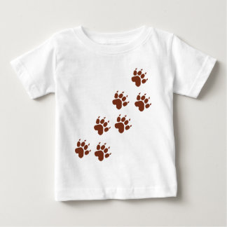 brown pad traces icon baby T-Shirt