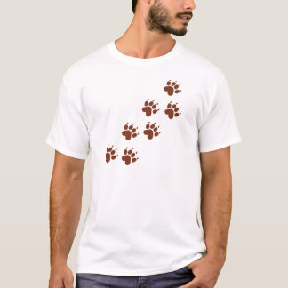 brown pad traces icon T-Shirt