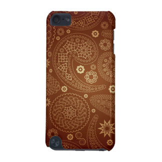 Brown Paisley Pattern Case