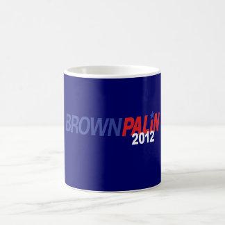 Brown Palin 2012 Coffee Mug