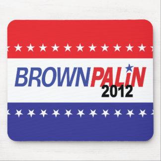 Brown Palin 2012 Mouse Pad