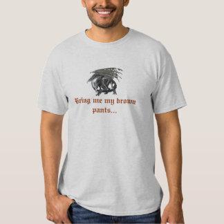 Brown Pants T-shirt