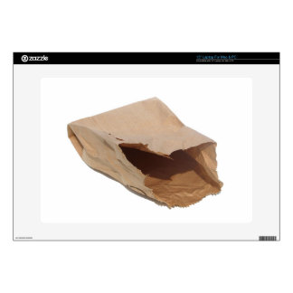 Brown Paper Bag Decal For Laptop