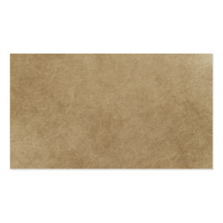 Brown Paper Bag Like Texutre Business Card