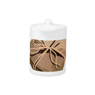Brown Paper Package Teapot