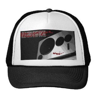 """Brown Paper Sound System """"Barcode Death"""" Trucker Trucker Hat"""