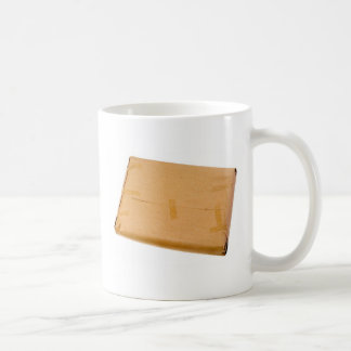 Brown parcel coffee mug
