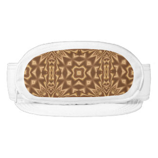 Brown pattern visors