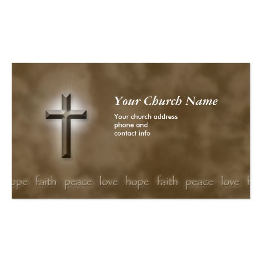 christian business card business card templates page4