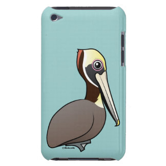 Brown Pelican Barely There iPod Cover