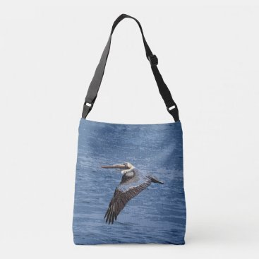 Beach Themed Brown Pelican Bird Wildlife Animal Ocean Bag