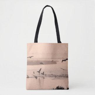Brown Pelican Birds Wildlife Animals Tote Bag