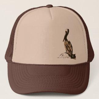 Brown Pelican Birds Wildlife Animals Trucker Hat