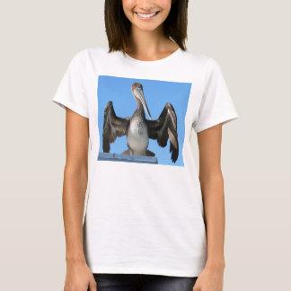 Brown Pelican Drying T-Shirt