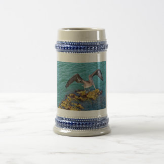 Brown Pelican Gulf of Mexico Beer Stein