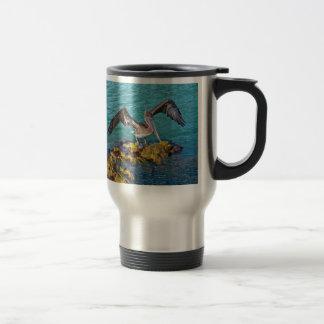 Brown Pelican Gulf of Mexico Travel Mug