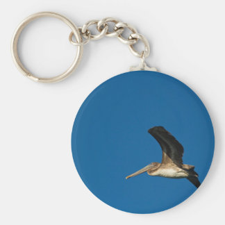 Brown Pelican Keychain