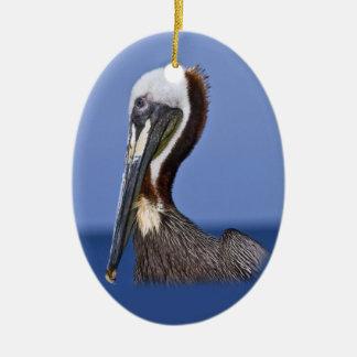Brown Pelican Ornament