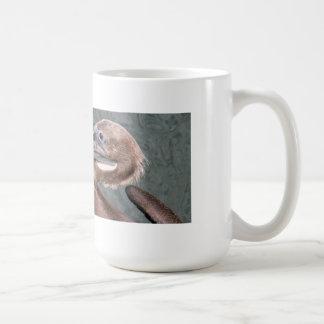 Brown Pelican Portrait Coffee Mug