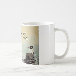 Brown Pelican & Seagull Coffee Mug