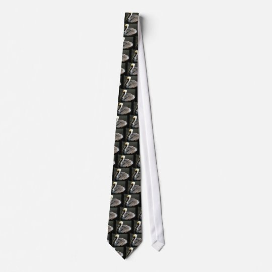 Brown Pelican Tie