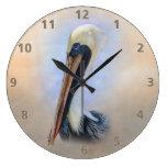 Brown Pelican Wallclock