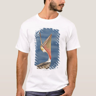 Brown Pelican with mouth open T-Shirt