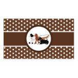 Brown Pet Sitting Dog Walking Walker Business Card