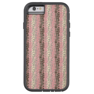Brown, Pink, and Yellow 01 Tough Xtreme iPhone 6 Case