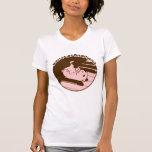 brown_pink camisetas