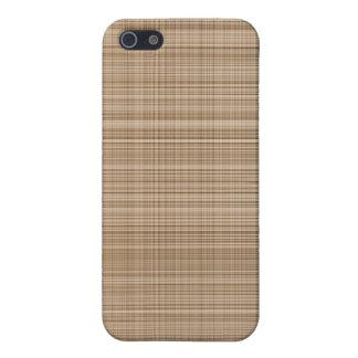 Brown Plaid Case iPhone 5 Cases