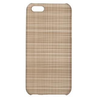 Brown Plaid Case iPhone 5C Case