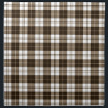 "Brown Plaid Napkin<br><div class=""desc"">Cute brown gingham plaid pattern.</div>"