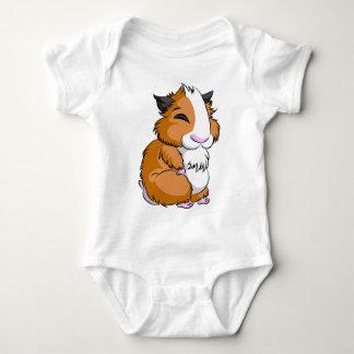 Brown Plooshkin Hamster Baby Bodysuit