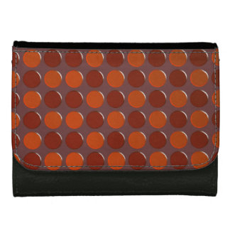 Brown points wallet
