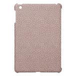Brown polkadot pern stylish  case for the iPad mini